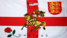 ENGLAND ST GEORGE CHARGER - 5 X 3 FLAG